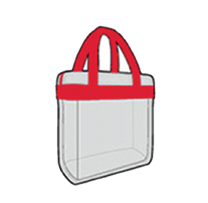 Illustrations of permitted bags
