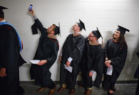 Master selfie